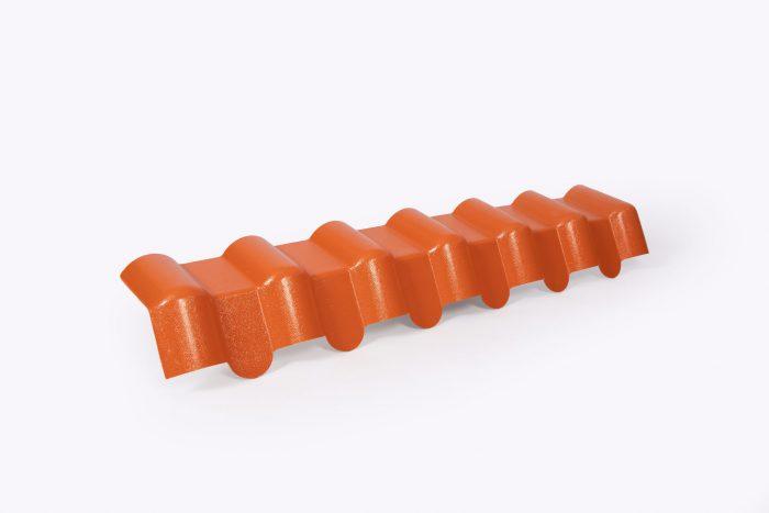 weikhoplex onderpanelement steenrood