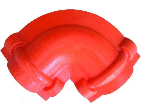 weikhoplex 2-weg broekstuk steenrood