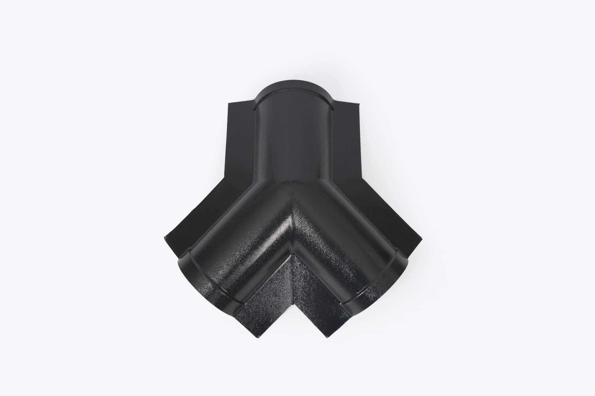 weikhoplex 3-weg broekstuk antraciet